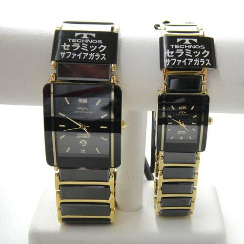 腕時計, ペアウォッチ () (TECHNOS) 3 T9137GB-T9796GB