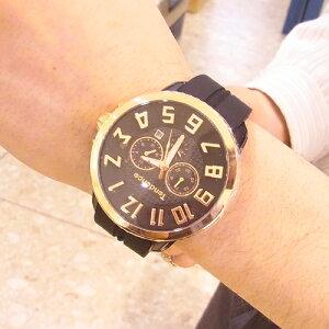 【正規品】テンデンス(TENDENCE)ガリバーラウンドクロノ(HYDROGENGULLIVERCHRONO)ユニセックス腕時計TG046012【正規登録店】