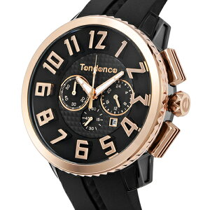 【送料無料】テンデンス(TENDENCE)ミディアムガリバークロノ(HYDROGENGULLIVERCHRONO)02046011AAブラック×ゴールド腕時計