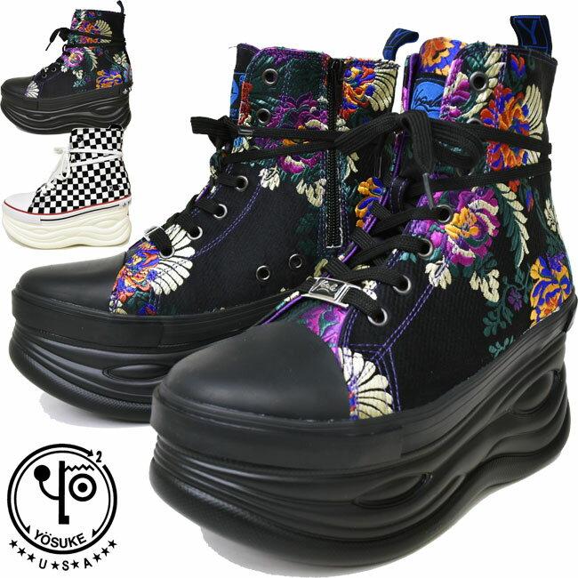 レディース靴, スニーカー  YOSUKE 2601032 2 22.5-24.5