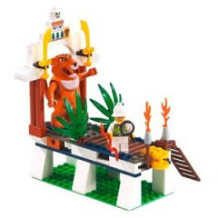 5702014261716【新品】【箱ダメージ有】LEGO レゴ 世界の冒険シリーズ 虎の神タイグラーの叫び ...