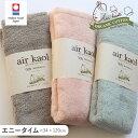 エアーかおる エニータイム ギフト 今治タオル ミニバスタオル デオドラント 消臭効果 オーガニックコットン 肌にやさしい ふわふわ 吸水 魔法の糸 スーパーZERO 綿100% 日本製 プレゼント