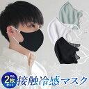 夏用 マスク 2枚セット接触冷感 抗菌 男女兼用 メッシュ Q-MAX ひも調整マスク 冷感 夏用 洗える 涼しい 通気性 UV加工 冷感マスク 呼吸しやすい おしゃれ ひんやりマスク 夏マスク 繰り返し 使える msk