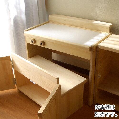 木製ままごとキッチン シングルタイプ ナチュラル C-600N / 日本製