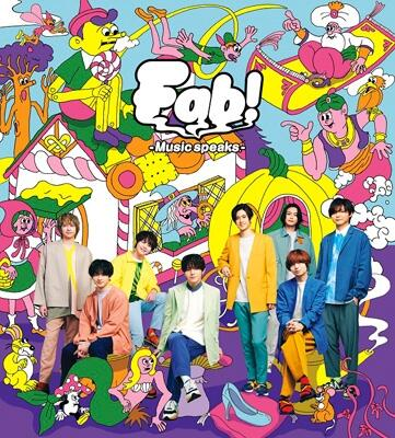 HeySayJUMP/Fab-Musicspeaks.-/ 初回 盤1 (CD+DVD)