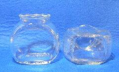 透明ガラスコルク口 タイコ小 容量OF96ml