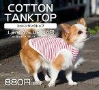 犬服コットンタンクトップ綿100%verynewドッグウェアgiftbox入り