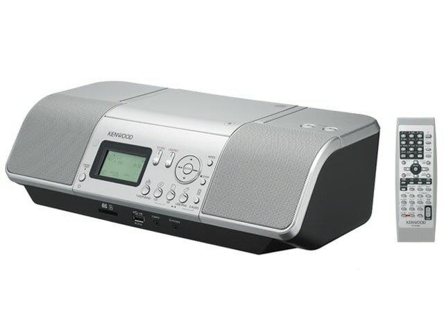 ケンウッド コンポ CLX-30-S [シルバー] [対応メディア:CD/CD-R/RW 最大出力:20W]