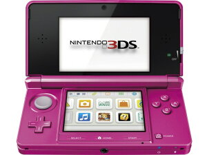 任天堂 ゲーム機 ニンテンドー3DS グロスピンク [タイプ:携帯ゲーム機 カラー:グロスピンク]