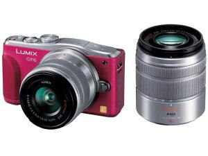 Wi-FiやNFCを搭載したミラーレス一眼カメラパナソニック デジタル一眼カメラ LUMIX DMC-GF6W-R ...