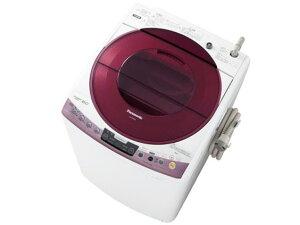 「泡洗浄」を搭載した縦型洗濯機【ポイント5倍】【代引不可】パナソニック 洗濯機 NA-FS80H6-P ...