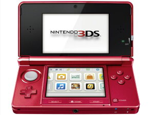 任天堂 ゲーム機 ニンテンドー3DS メタリックレッド [タイプ:携帯ゲーム機 カラー:メタリック...