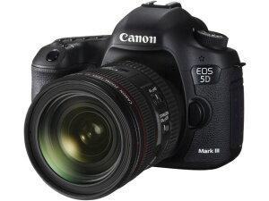 「EOS 5D Mark III」と標準ズームレンズ「EF24-70mm F4L IS USM」のセットCANON デジタル一眼カ...