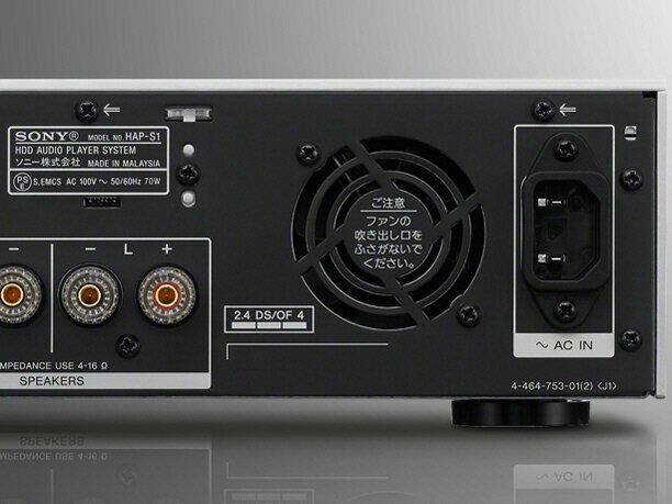 SONY コンポ HAP-S1 [最大出力:80W ハイレゾ:○]