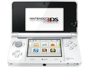 任天堂 ゲーム機 ニンテンドー3DS ピュアホワイト [タイプ:携帯ゲーム機 カラー:ピュアホワイト]