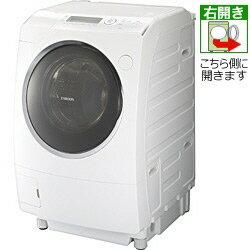【代引不可】東芝 洗濯機 ZABOON TW-Z96V1R(W) [ピュアホワイト] [洗濯機スタイル:洗濯乾燥機 ...