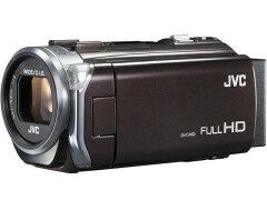 光学38倍ズームに対応したビデオカメラJVC ビデオカメラ Everio GZ-E765-T [アーバンブラウン] ...
