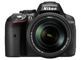 尼康数码单反照相机D5300 18-55 VR II透镜配套元件[黑色][类型:单反像素数:2478万像素(全部,像素)/2416万像素(有效像素)摄像元件:APS-C/23.5mm×15.6mm/CMOS连写拍摄:5片断/秒重量:480g]
