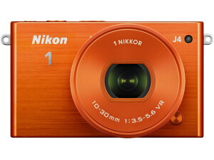 「1 NIKKOR VR 10-30mm f/3.5-5.6 PD-ZOOM」の同梱セットニコン デジタル一眼カメラ Nikon 1 J4...