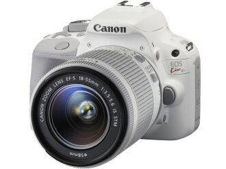 CANON数码单反照相机EOS Kiss X7双透镜配套元件2[类型:单反像素数:1800万像素(有效像素)摄像元件:APS-C/22.3mm×14.9mm/CMOS连写拍摄:4片断/秒重量:373g]