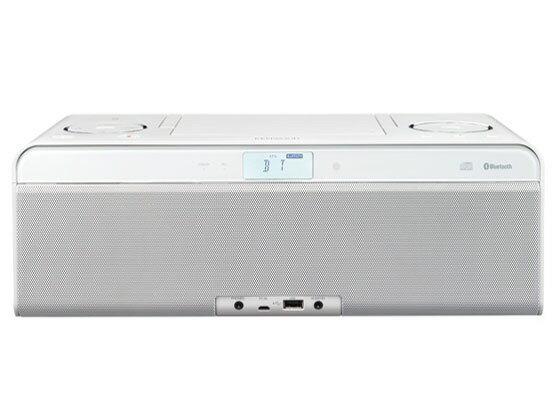 ケンウッド コンポ CLX-50-W [セラミックホワイト] [対応メディア:CD/CD-R/RW 最大出力:26W ハイレゾ:○]