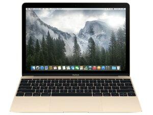 12型Retinaディスプレイを搭載したMacBookAPPLE Mac ノート MacBook 1200/12 MK4N2J/A [ゴール...