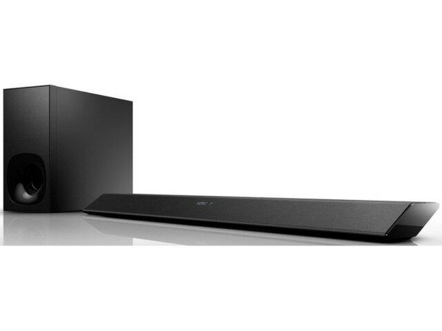SONY ホームシアター スピーカー HT-CT380 [タイプ:サウンドバー チャンネル数:2.1ch DolbyDigital:○ DTS:○ サラウンド最大出力:180W ウーハー最大出力:90W]