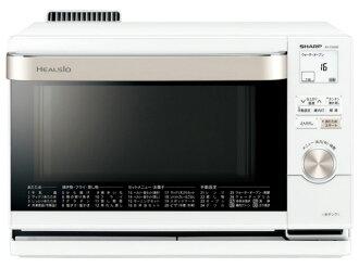鋒利的電烤箱 herushio AX-CA200-W [白色系統] [類型: 電子烤箱烤箱容量: 18 L 最大的微波輸出功率: 1000 W]