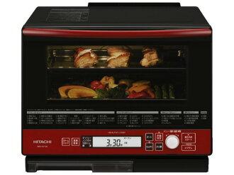 日立電子烤箱健康廚師 MRO RV100 (R) [紅色] [類型: 電子烤箱烤箱容量: 33 L 最大的微波輸出功率: 1000 W]