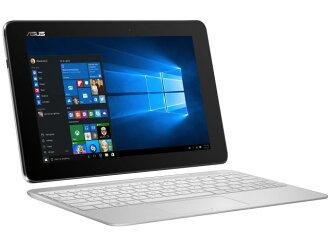 ASUS平板電腦PC(終端)、PDA ASUS TransBook T100HA T100HA-WHITE[絲綢白][類型:平板電腦OS種類:Windows 10 Home 64bit畫面尺寸:10.1英寸CPU:Atom x5-Z8500/1.44GHz存儲容量:64GB]