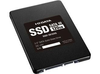 IODATA SSD SSD-3S120G[容量:120GB規格尺寸:2.5英寸接口:Serial ATA 6Gb/s型:MLC]
