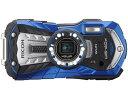 【ポイント5倍】リコー デジタルカメラ RICOH WG-40W [ブルー] [画素数:1600万画素(有効画素) 光学ズーム:5倍 撮影枚数:300枚 防水カメラ:○ 備考:防水:JIS保護等級8級/防塵:JIS保護等級6級/耐衝撃/耐温度-10℃/顔認識/スマイルキャッチ/ペット検出]