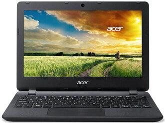 宏基筆記本電腦 Aspire ES1-131-F14D/K [黑鑽石] [液晶屏尺寸︰ 11.6 英寸 CPU:Celeron 雙核心 N3050 (布拉斯韋爾) /1.6GHz/2 核心 CPU 得分︰ 904 硬碟容量 500 GB 的記憶體容量︰ 4 GB 作業系統︰ Windows 10 家 64 位]