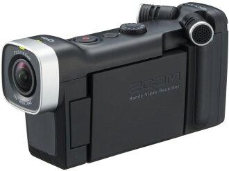 ZOOM攝像機Handy Video Recorder Q4n[類型:不利條件照相機高清晰對應:全高清攝影時間:180分本體重量:155.9g攝像元件:CMOS 1/3型]