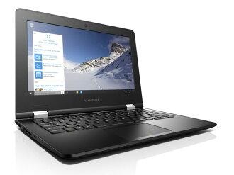 Lenovo筆記型電腦IdeaPad 300S 80KU000YJP[eboniburakku][液晶尺寸:11.6英寸CPU:Celeron Dual-Core N3050(Braswell)/1.6GHz/2核心CPU得分:892存儲空間:2GB OS:Windows 10 Home 64bit]