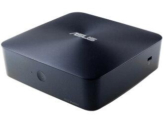 ASUS台式電腦VivoMini UN65H UN65H-M007Z[CPU種類:Core i3 6100U(Skylake)存儲空間:4GB HDD容量:1TB OS:Windows 10 Home 64bit]