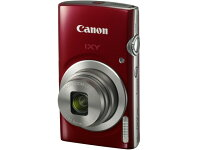 CANONデジタルカメラIXY180[レッド]