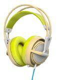 steelseries头戴式受话器SteelSeries Siberia 200[Gaia Green][耳机型:超过脑袋插头形状:小型插头一个耳朵事情/两耳朵事情:两耳朵事情]