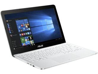 ASUS筆記型電腦ASUS VivoBook E200HA E200HA-WHITE[白][液晶尺寸:11.6英寸CPU:Atom x5-Z8300(Cherry Trail]/1.44GHz/4核心CPU得分:1201存儲空間:2GB OS:Windows 10 Home 64bit]