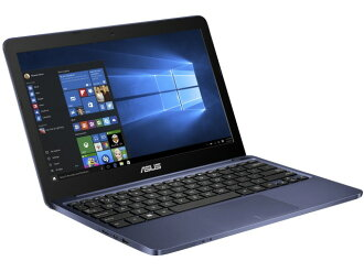 ASUS筆記型電腦ASUS VivoBook E200HA E200HA-DBLUE[藏青][液晶尺寸:11.6英寸CPU:Atom x5-Z8300(Cherry Trail]/1.44GHz/4核心CPU得分:1201存儲空間:2GB OS:Windows 10 Home 64bit]