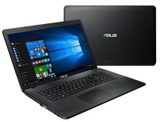 華碩筆記本電腦 K751SA K751SA-TY058TS [液晶屏尺寸︰ 17.3 英寸 CPU:Celeron 雙核心 N3050 (布拉斯韋爾) /1.6GHz/2 核心 CPU 得分︰ 904 硬碟容量︰ 1000 GB 的記憶體容量︰ 4 GB 作業系統︰ Windows 10 家 64 位]