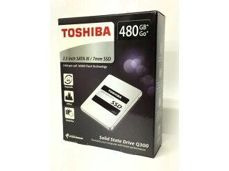 東芝SSD Q300 HDTS848AZSTA[容量:480GB規格尺寸:2.5英寸接口:Serial ATA 6Gb/s型:TLC]
