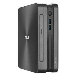 ASUS台式電腦VivoMini VC65 VC65-G107Z[CPU種類:Pentium Dual-Core G4400T(Skylake)存儲空間:4GB HDD容量:1TB OS:Windows 10 Home 64bit]