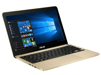 ASUS筆記型電腦ASUS VivoBook E200HA E200HA-8350G[黄金][液晶尺寸:11.6英寸CPU:Atom x5-Z8350(Cherry Trail]/1.44GHz/4核心CPU得分:1354存儲空間:4GB OS:Windows 10 Home 64bit]