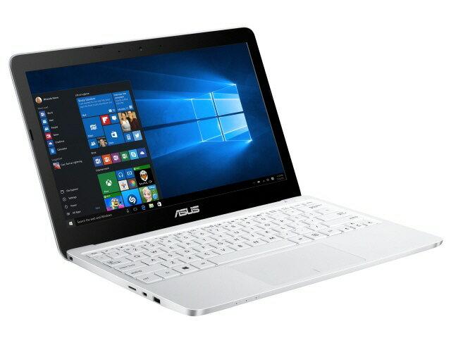 【ポイント5倍】ASUS ノートパソコン ASUS VivoBook E200HA E200HA-8350W [ホワイト] [液晶サイズ:11.6インチ CPU:Atom x5-Z8350(Cherry Trail)/1.44GHz/4コア CPUスコア:1334 ストレージ容量:eMMC:32GB メモリ容量:4GB OS:Windows 10 Home 64bit]:YOUPLAN