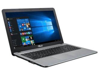 ASUS筆記型電腦ASUS VivoBook X540LA X540LA-HSILVER[銀子階度][液晶尺寸:15.6英寸CPU:Core i3 5005U(Broadwell)/2GHz/2核心CPU得分:2909 HDD容量:500GB存儲空間:4GB OS:Windows 10 Home 64bit]