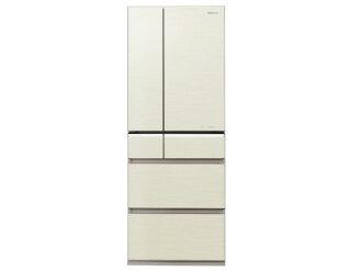 松下冰箱冰箱 NR-F552PV-N,[金] [打開門︰ 門 (鉸鏈) 類型︰ 冰櫃和冰箱門的數量︰ 6 門額定容量︰ 551 L]