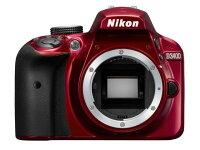 ニコンデジタル一眼カメラD3400ボディ[レッド]