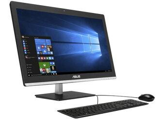 ASUS台式電腦Vivo AiO V220ICUK V220ICUK-BC108X[畫面尺寸:21.5英寸CPU種類:Core i5 6200U(Skylake)存儲空間:4GB HDD容量:1TB OS:Windows 10 Home 64bit]