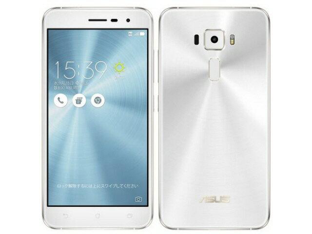 【ポイント5倍】ASUS スマートフォン ZenFone 3 ZE520KL-WH32S3 SIMフリー [パールホワイト] [キャリア:SIMフリー OS種類:Android 6.0 販売時期:2016年秋モデル 画面サイズ:5.2インチ 内蔵メモリ:ROM 32GB RAM 3GB バッテリー容量:2650mAh]:YOUPLAN